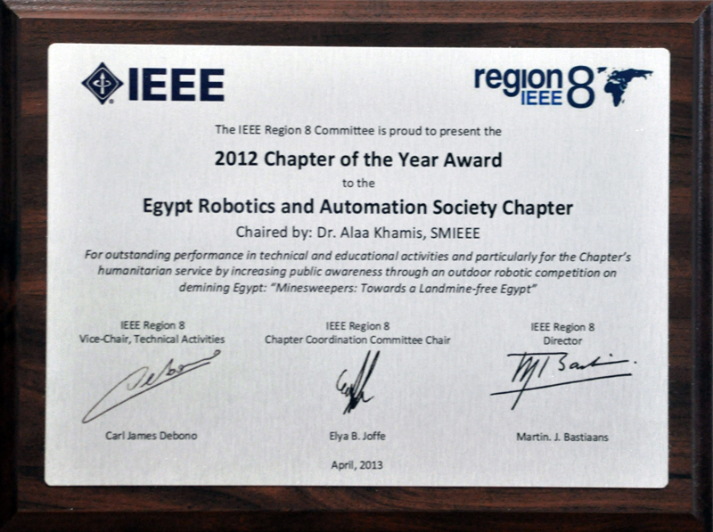 Ieee Ras Egypt Chapter
